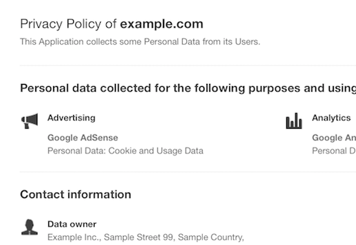 Ecommerce Privacy Policy Template. sample shipping policy template ...