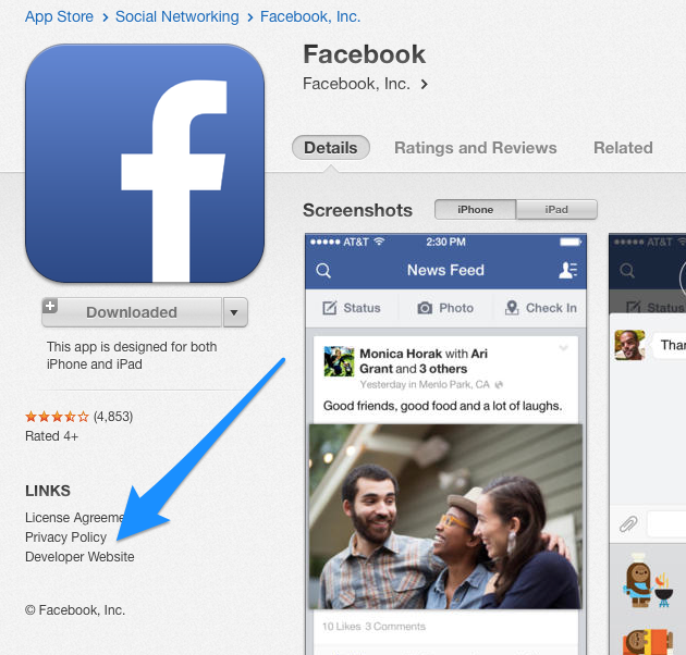 Where Is The Privacy Policy Link In The App Store Iubenda Blog
