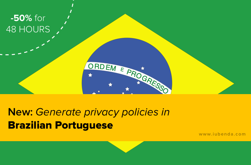 Brazilian privacy policy launch