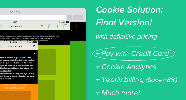 Cookie Solution: final version
