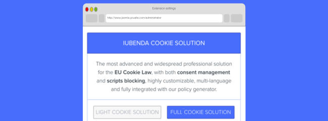 Cookie Solution: pricing available