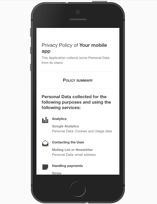 Privacy policy for android apps template and guide for App terms and conditions template