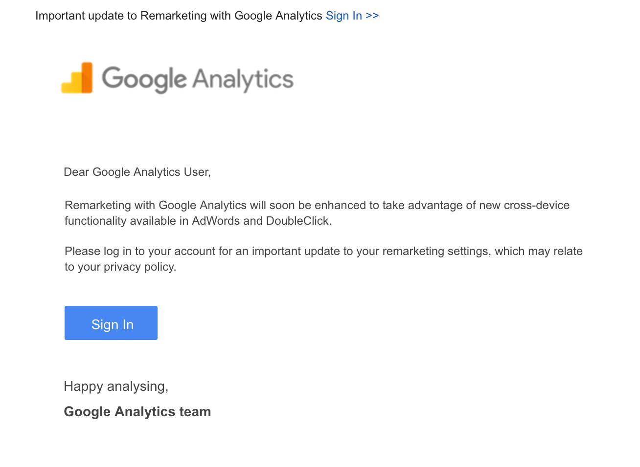 Google Analytics Remarketing Privacy Policy Iubenda Blog