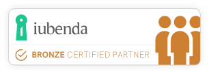 iubenda Certified Bronze Partner