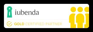 iubenda Certified Gold Partner