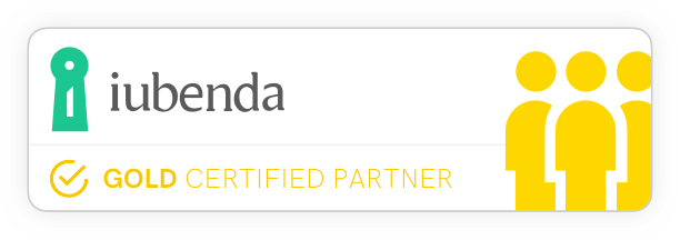 iubenda Certified Gold Partner