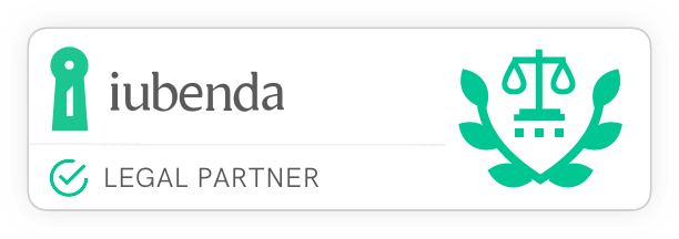 iubenda Certified Legal