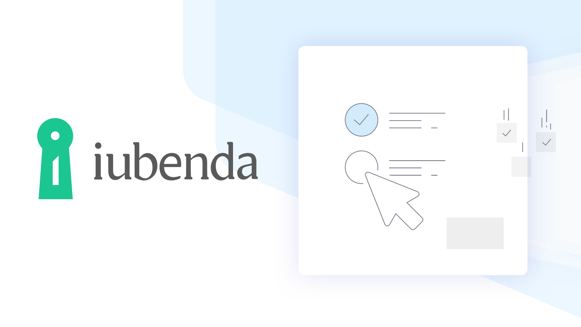 Compliance Solutions for Websites, Apps and Organizations | iubenda